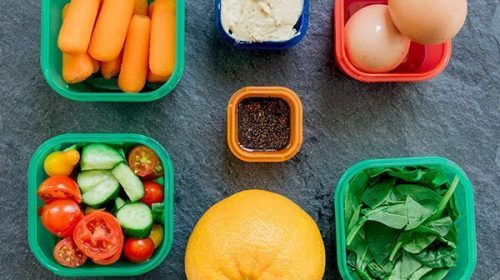 Simple Lunch Ideas Using Portion Containers