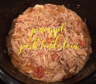 Crockpot Pineapple Pork Tenderloin