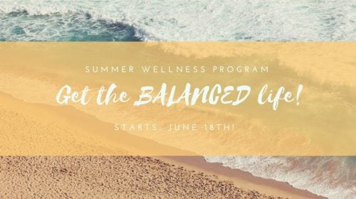 Get Balanced For Summer Challenge Group